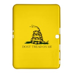 Gadsden Flag Don t Tread On Me Samsung Galaxy Tab 4 (10 1 ) Hardshell Case  by MAGA