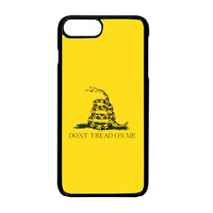 Gadsden Flag Don t Tread On Me Apple Iphone 8 Plus Seamless Case (black) by MAGA