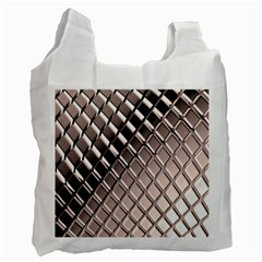 3d Abstract Pattern Recycle Bag (one Side) by Sapixe