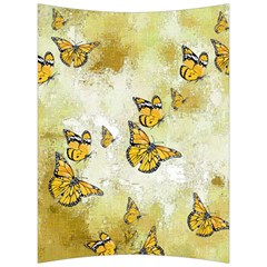 Adorable Butterflies, Yellow Back Support Cushion by MoreColorsinLife