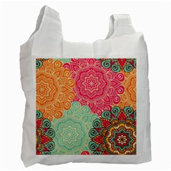 Art Abstract Pattern Recycle Bag (one Side) by Sapixe