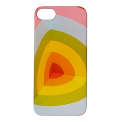 Graffiti Orange Lime Power Blue And Pink Spherical Abstract Retro Pop Art Design Apple Iphone 5s/ Se Hardshell Case