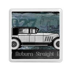 Vintage Car Automobile Auburn Memory Card Reader (square)  by Nexatart
