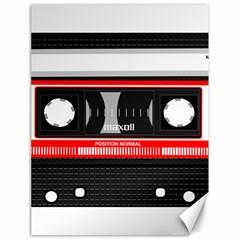 Compact Cassette Musicassette Mc Canvas 18  X 24