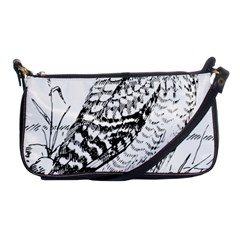 Animal Bird Forest Nature Owl Shoulder Clutch Bags by Nexatart
