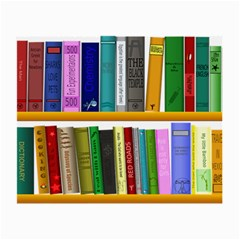 Shelf Books Library Reading Small Glasses Cloth (2 Side) by Nexatart