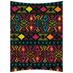 Ethnic Pattern Back Support Cushion by Sapixe