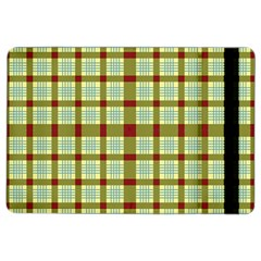 Geometric Tartan Pattern Square Ipad Air 2 Flip by Sapixe
