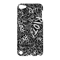 Panic At The Disco Lyric Quotes Retina Ready Apple Ipod Touch 5 Hardshell Case by Samandel