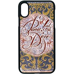 Panic! At The Disco Apple Iphone X Seamless Case (black) by Samandel