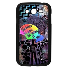 Panic! At The Disco Galaxy Nebula Samsung Galaxy Grand Duos I9082 Case (black) by Samandel