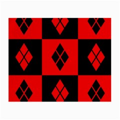 Harley Quinn Pattern Small Glasses Cloth (2 Side)