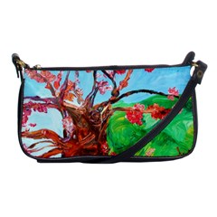 Coral Tree Blooming Shoulder Clutch Bags by bestdesignintheworld