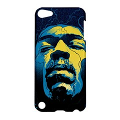 Gabz Jimi Hendrix Voodoo Child Poster Release From Dark Hall Mansion Apple Ipod Touch 5 Hardshell Case by Samandel