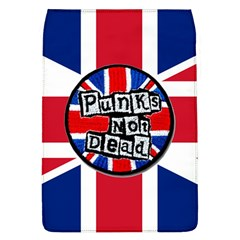 Punk Not Dead Music Rock Uk United Kingdom Flag Flap Covers (l)  by Samandel
