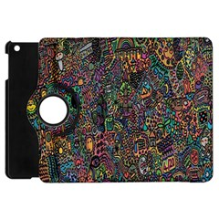 Trees Internet Multicolor Psychedelic Reddit Detailed Colors Apple Ipad Mini Flip 360 Case by Sapixe