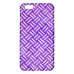 Woven2 White Marble & Purple Watercolor Iphone 6 Plus/6s Plus Tpu Case by trendistuff