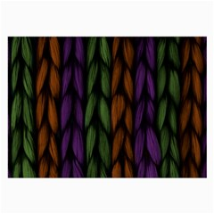 Background Weave Plait Purple Large Glasses Cloth (2 Side) by Sapixe