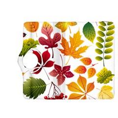 Beautiful Autumn Leaves Vector Kindle Fire Hdx 8 9  Flip 360 Case