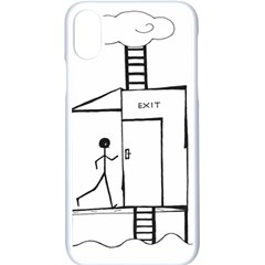 Drawing Apple Iphone X Seamless Case (white) by ValentinaDesign