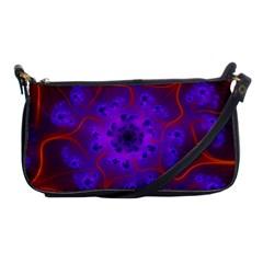 Fractal Mandelbrot Shoulder Clutch Bags