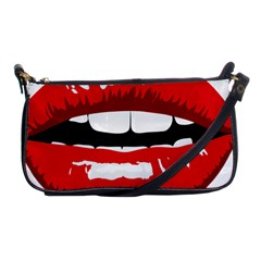Sexy Mouth  Shoulder Clutch Bags