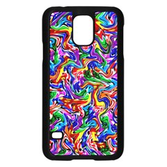 Artwork By Patrick Colorful 39 Samsung Galaxy S5 Case (black) by ArtworkByPatrick