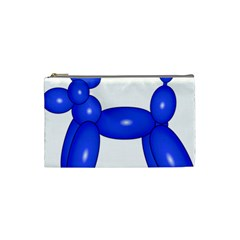Poodle Dog Balloon Animal Clown Cosmetic Bag (small)  by Nexatart