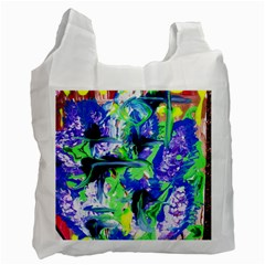 Lilac 3 Recycle Bag (one Side) by bestdesignintheworld