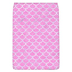 Scales1 White Marble & Pink Colored Pencil Flap Covers (l)  by trendistuff
