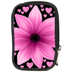 Flower Plant Floral Petal Nature Compact Camera Cases by Sapixe