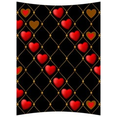 Background Texture Texture Hearts Back Support Cushion by Sapixe
