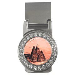 Pyramid Egypt Monumental Money Clips (cz)  by Sapixe