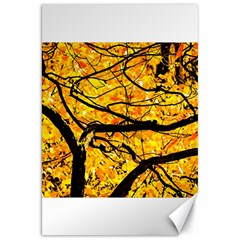 Golden Vein Canvas 20  X 30   by FunnyCow