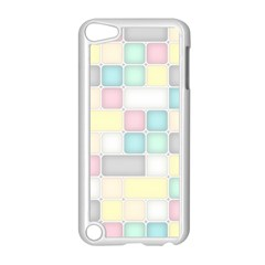 Background Abstract Pastels Square Apple Ipod Touch 5 Case (white)