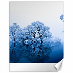 Nature Inspiration Trees Blue Canvas 12  X 16   by Nexatart