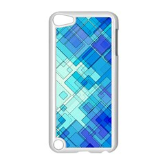 Abstract Squares Arrangement Apple Ipod Touch 5 Case (white)