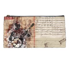 Art Collage Design Colorful Color Pencil Cases by Nexatart