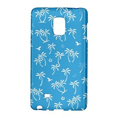 Tropical Pattern Samsung Galaxy Note Edge Hardshell Case by Valentinaart