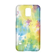 Abstract Pattern Color Art Texture Samsung Galaxy S5 Hardshell Case  by Nexatart