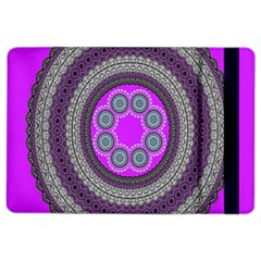 Round Pattern Ethnic Design Ipad Air 2 Flip by Nexatart