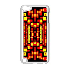 Red Black Yellow 4 Apple Ipod Touch 5 Case (white)