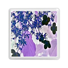 Blossom Bloom Floral Design Memory Card Reader (square) by Sapixe