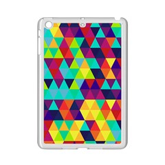 Bright Color Triangles Seamless Abstract Geometric Background Ipad Mini 2 Enamel Coated Cases by Alisyart