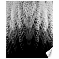 Feather Graphic Design Background Canvas 16  X 20  by Nexatart