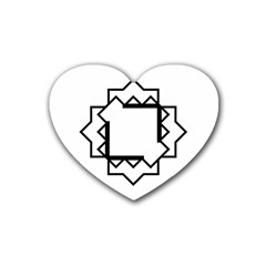 Throne Heart Coaster (4 Pack)  by JMMMedia