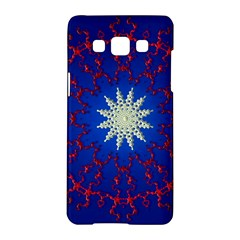 Mandala Abstract Fractal Patriotic Samsung Galaxy A5 Hardshell Case
