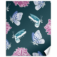 Butterfly  Canvas 16  X 20  by Hansue