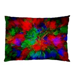 Color Art Bright Decoration Pillow Case (two Sides) by Nexatart