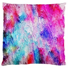 Background Art Abstract Watercolor Large Cushion Case (two Sides) by Sapixe